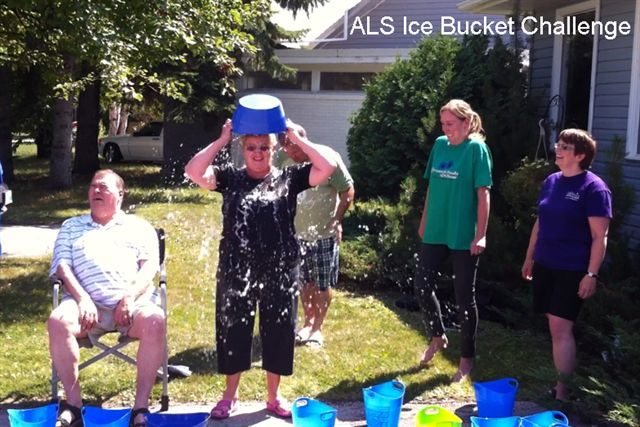 Diana Rasmussen, ED ALS Society of Manitoba, August 15 2014
